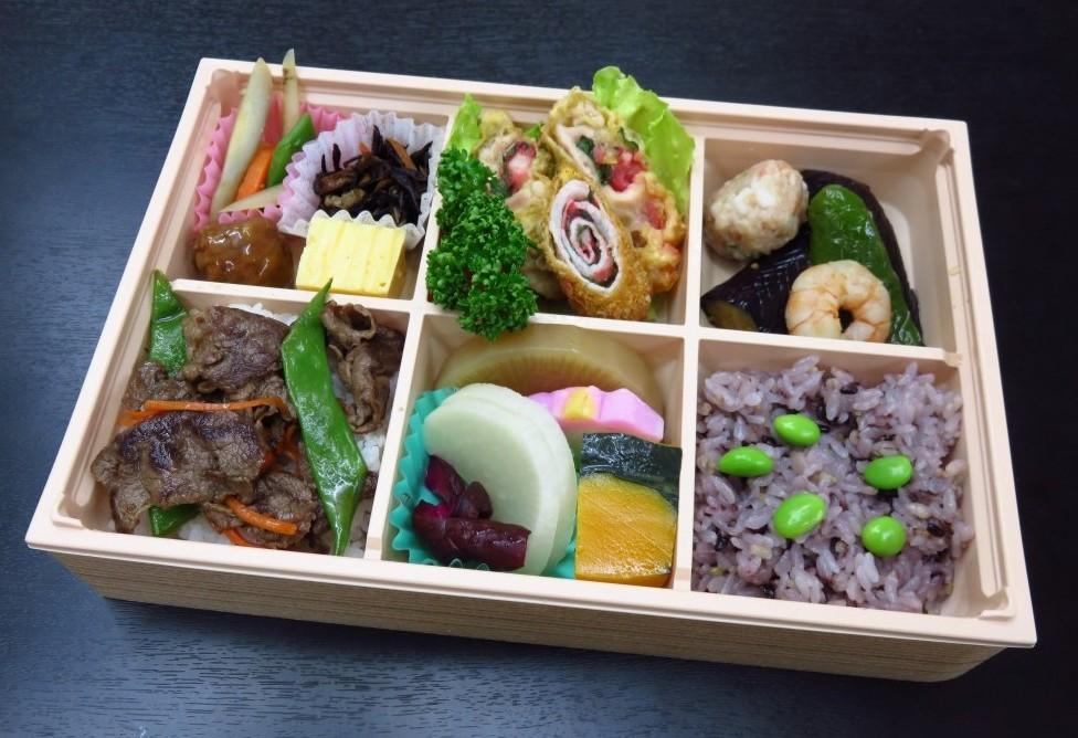 五穀米幕の内弁当【A62】<br />