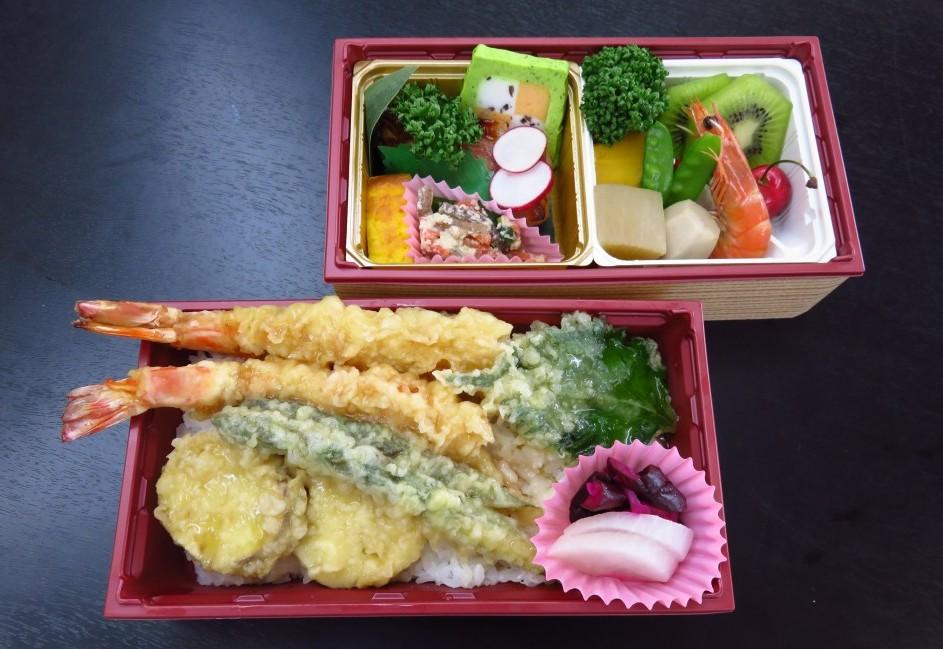 天丼折詰弁当(2段)【A61】<br />