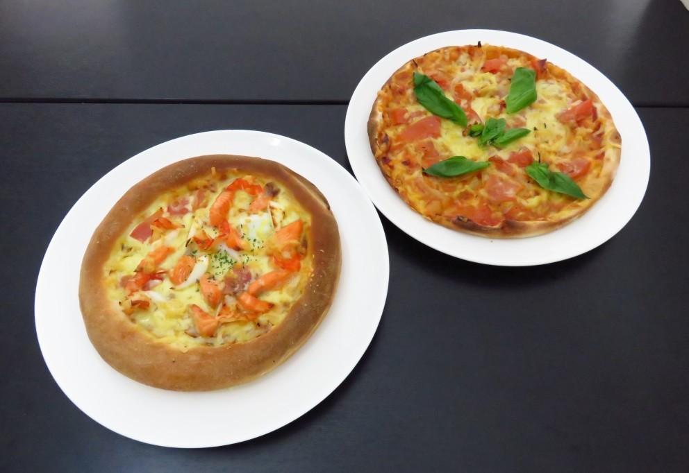 華の盛りピザ2種(1セット)<br />