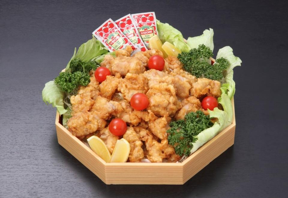サイドメニュー 若鶏の唐揚げ盛り【限定150皿】