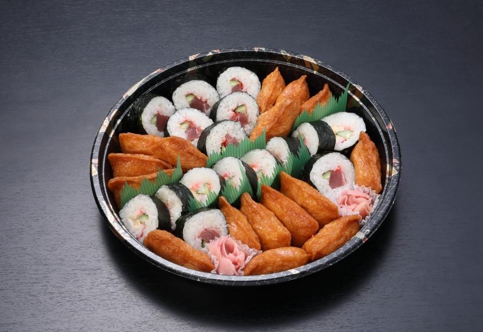 巻き寿司アラカルトと稲荷寿司【限定120皿】