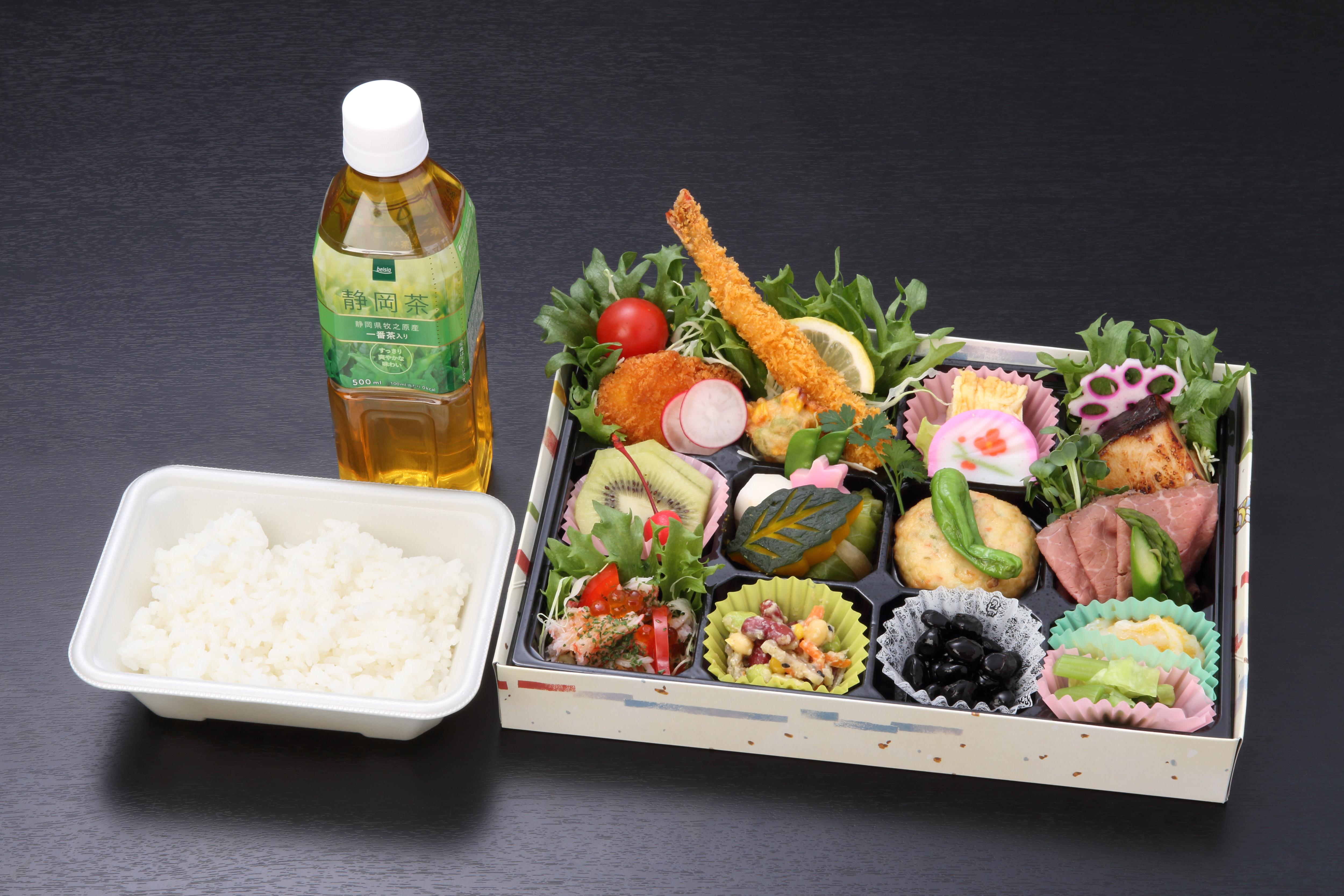 みらい弁当 絆(きずな)【A123】(ペットボトルお茶500ml.1本付)