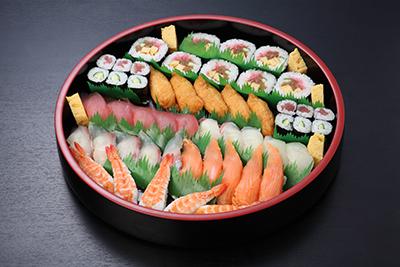 華の盛り 生寿司と助六盛り合わせ【A05】※5人盛