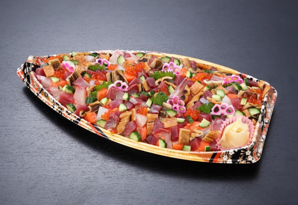 ばらちらし寿司盛り